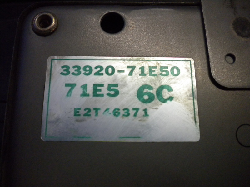 Centralina motore codice...