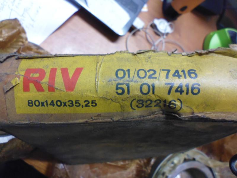 Cuscinetto RIV 01/02/7416...