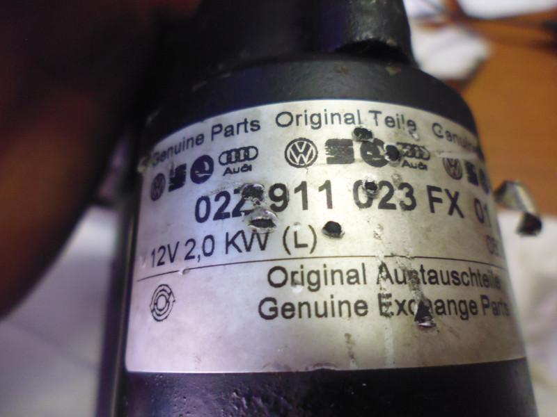 Motorrino avviamento Audi...