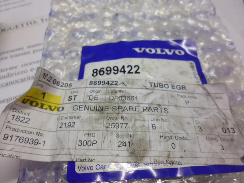 Tubo EGR Volvo codice...