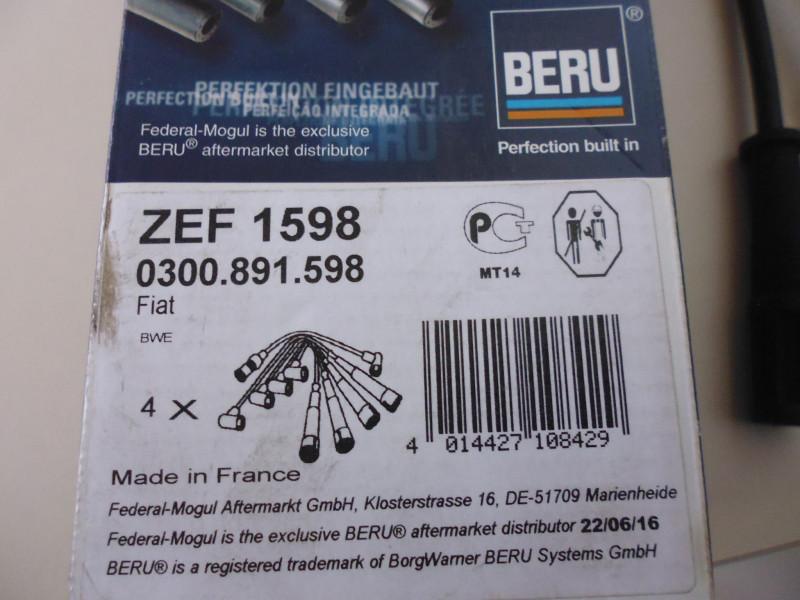 Cavi candele Beru ZEF1598...
