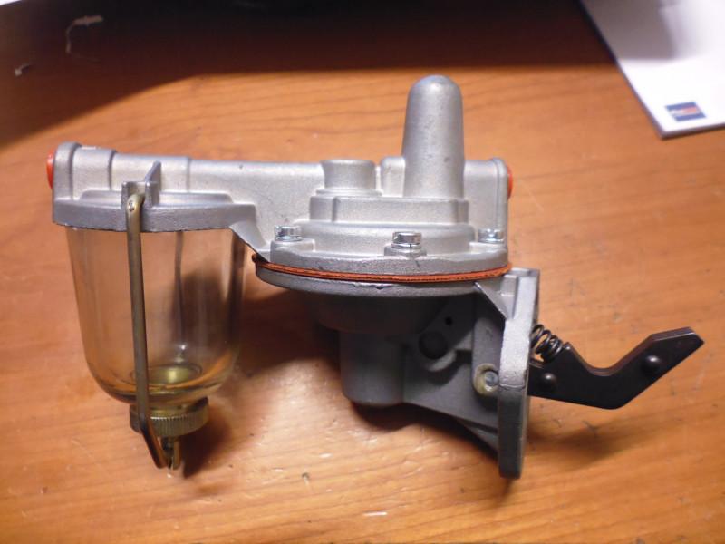 Pompa carburante meccanica...