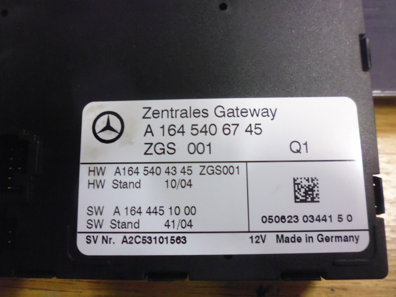 Centralina Gateway Mercedes...